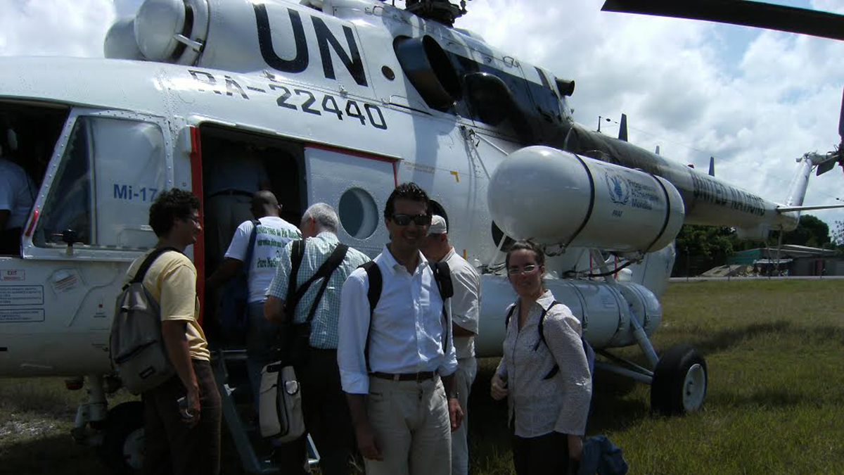 in missione umanitaria ad Haiti - Progetto Aquaplus