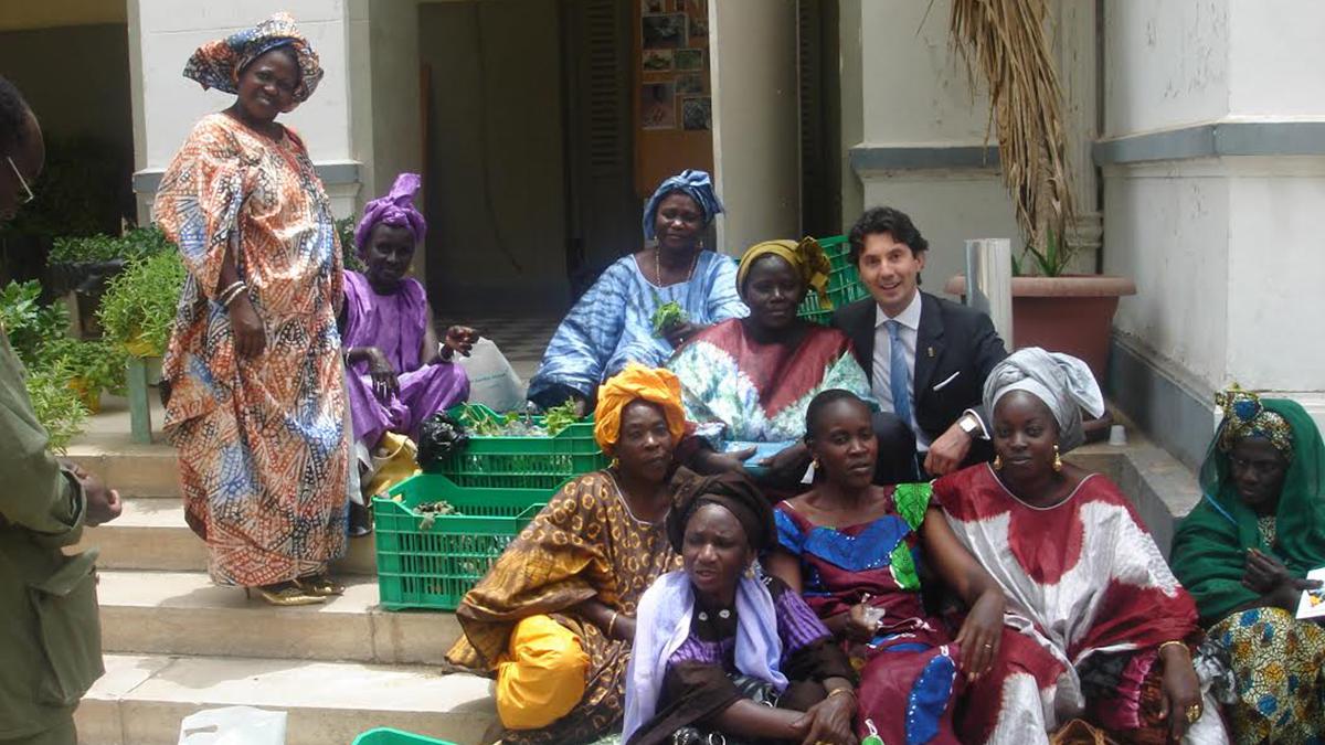 in Senegal per la cooperazione allo sviluppo