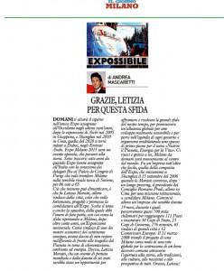 Expossibile 30 aprile 2015 grazie Letizia